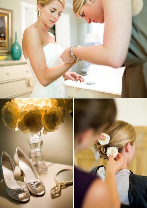 DIY Wedding in Asheville Bridal Beauty