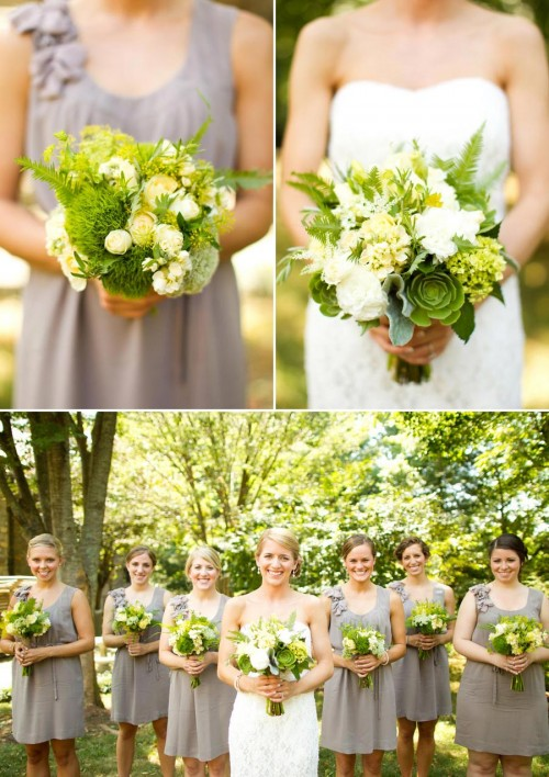 DIY Asheville Wedding bouquets