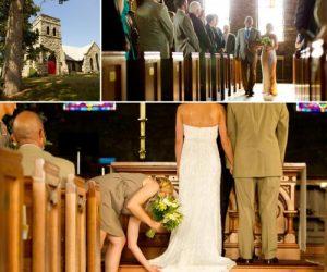 DIY Asheville Wedding church ceremony