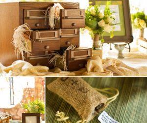 DIY Asheville Wedding card catalog details