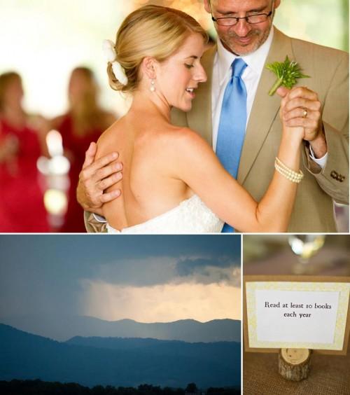 DIY Asheville Wedding father daughter dance