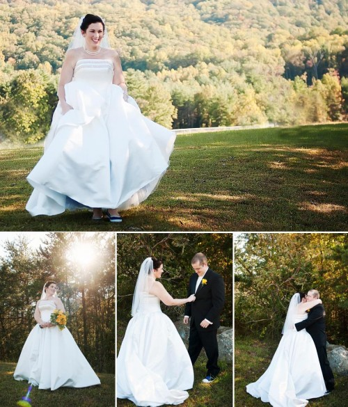 Asheville Bridal Portraits