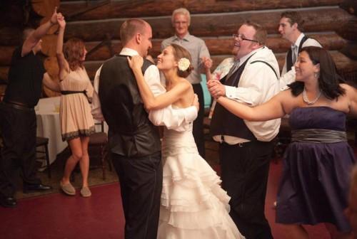 first dance aspen wedding