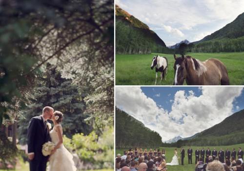 Aspen wedding ceremony
