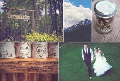 Mountain wedding in Aspen Colorado