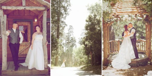 twin peaks bridal portraits
