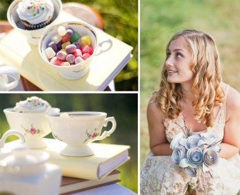 tea party styled shoot