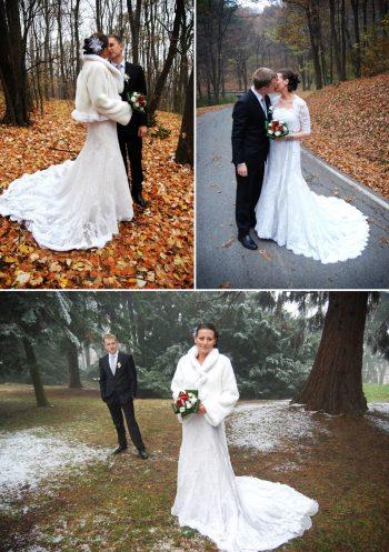 late fall bridal shoot in Belgrade