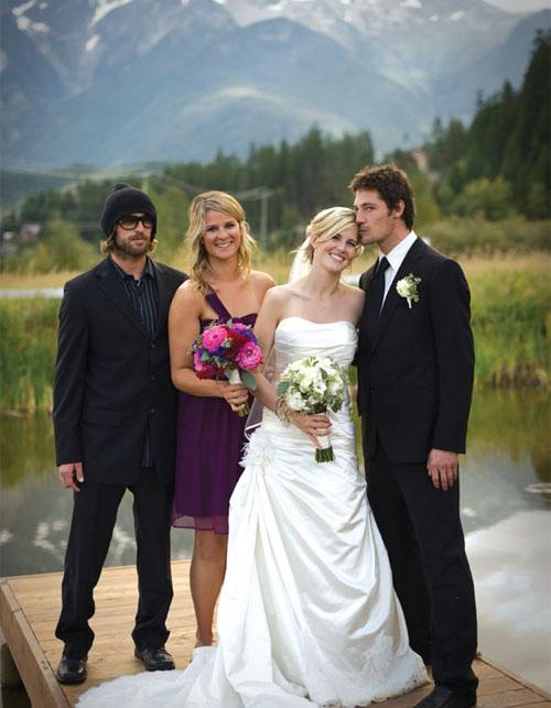 Sarah Burke's Wedding
