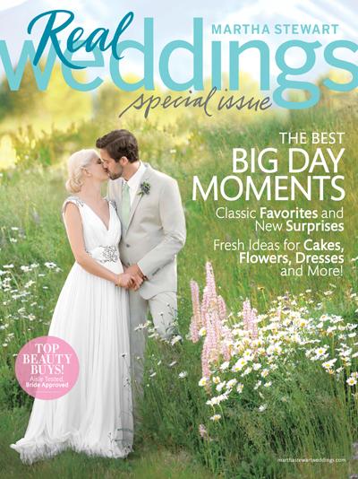 Martha Stewart Special Real Weddings Edition