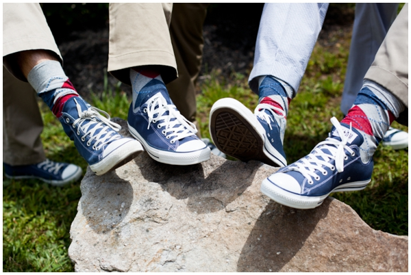 blue chucks for groomsmen