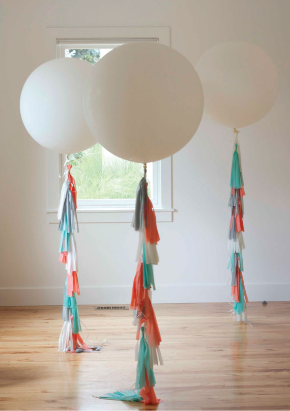 How to Make Balloon fringe tassels