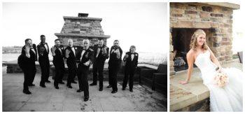 Colorado bride and groomsmen