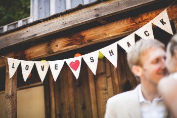love shack DIY banner