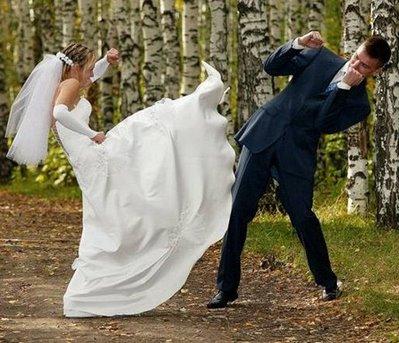 wedding fights