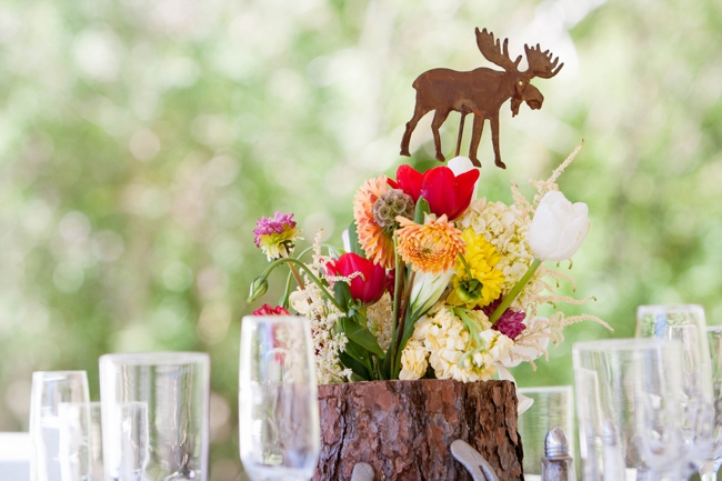 moose table number mammoth lakes wedding