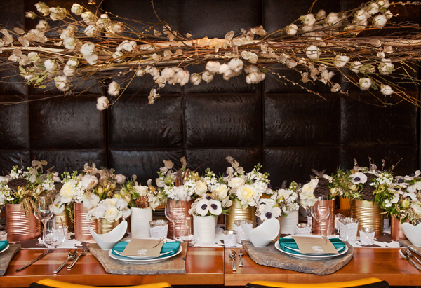 rugged meets refined tablescape