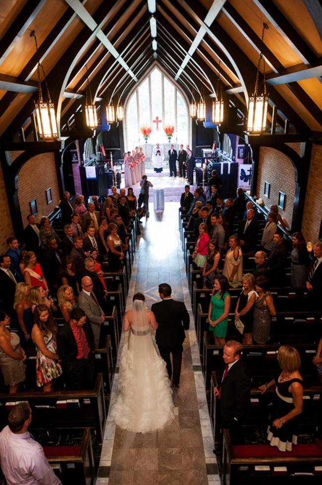 Chapel wedding in Colorado Springs, CO