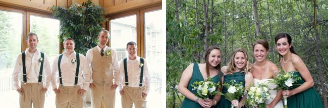 green colorago wedding