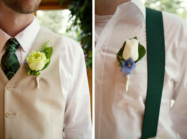 green ties and suspenders