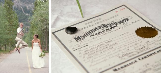 colorado marriage certificate