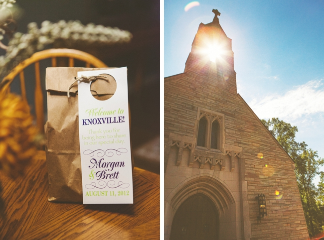 Knoxville Church and out of town bags