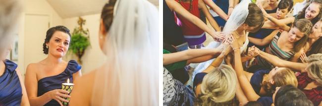 bridal party ceremony