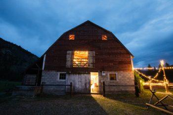 Washington barn wedding venue