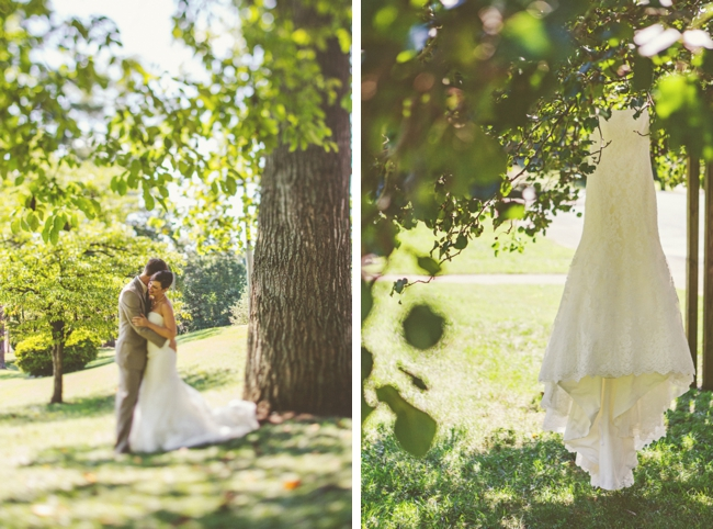 knoxville wedding dress and bride and groom
