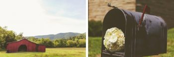 red barn wedding in knoxville