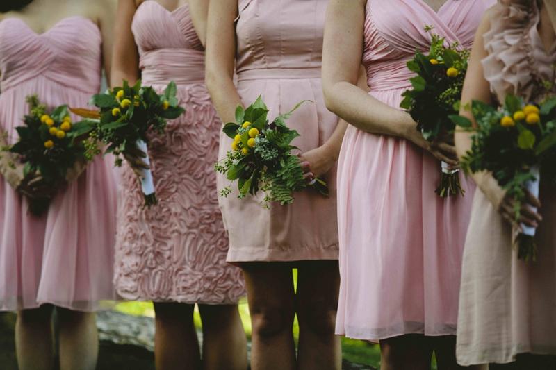 Western North Carolina Wedding with Pink Details