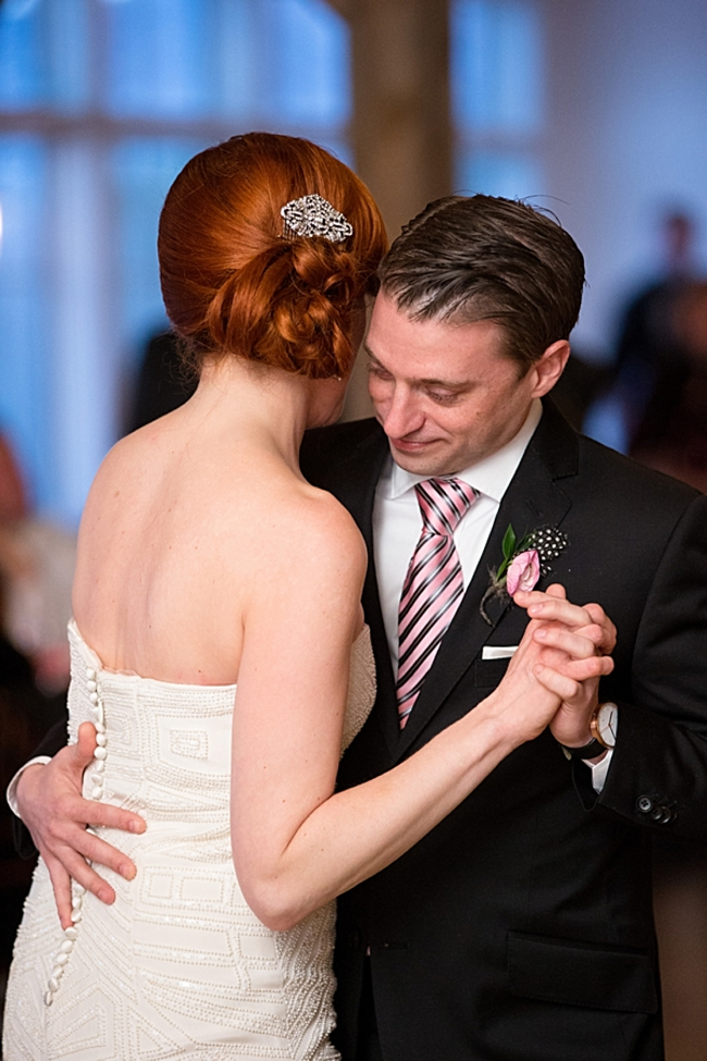 vermont bride and groom first dance