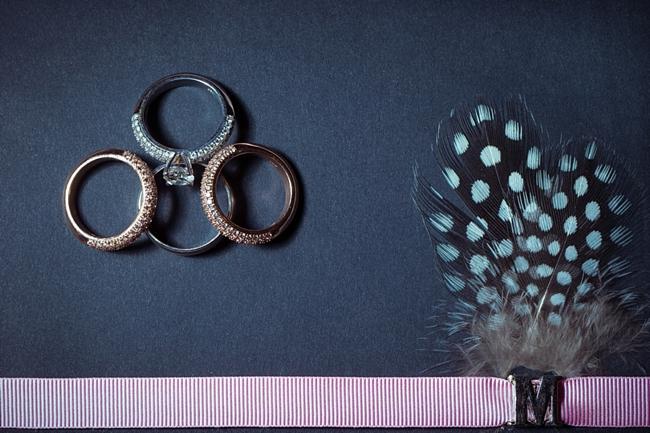 vintage inspired rose gold rings