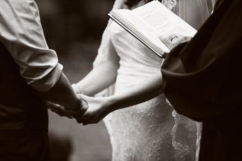 North Carolina Intimate wedding ceremony