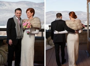 vermont bride and groom portraits
