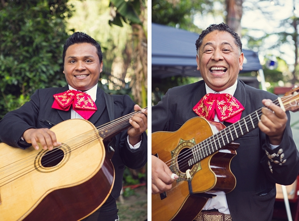 Mariachi guitar players