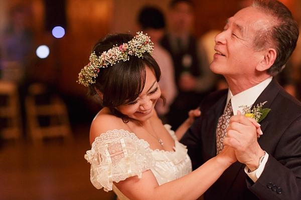 father daughter dance vintage wedding image by Gavin farrington