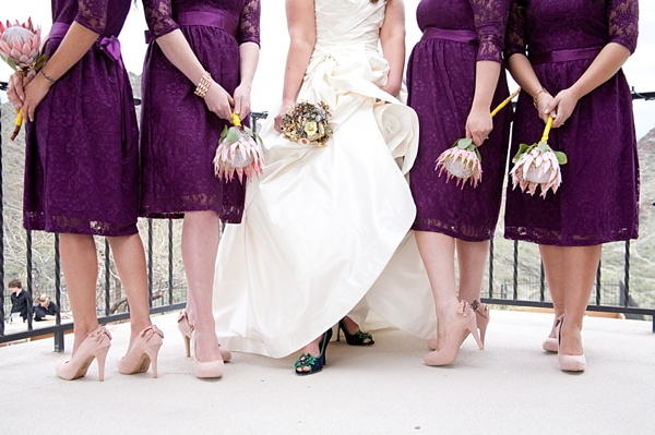 3-protea-bridesmaids-bouquets-Angelina-Rose-Photography
