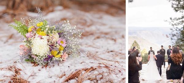 high sierra wedding ceremony via Gavin Farrington Photography