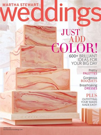 Cover Martha Stewart Weddings Spring 2013