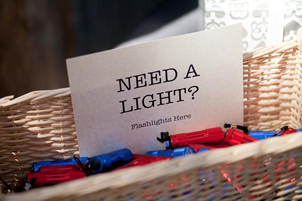 flashlight favors