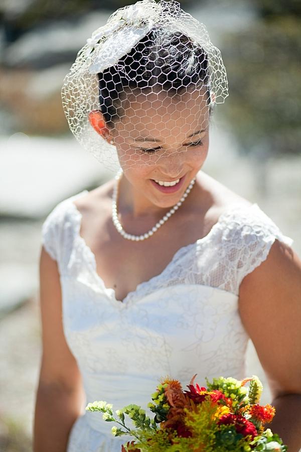 mid-century modern mountain bride