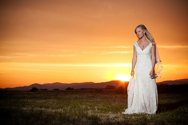 sunset bridal in western North Carolina