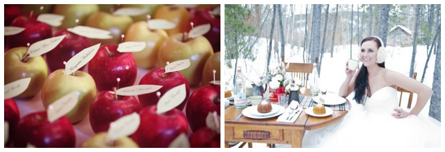 fall and winter wedding inspiration