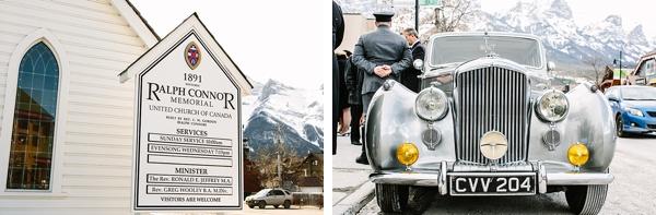 Rolls Royce Banff wedding