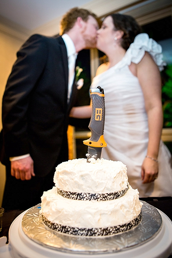 back country wedding cake knife