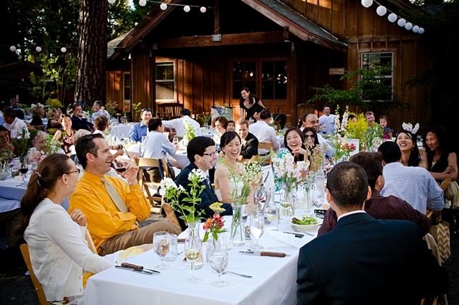 Yosemite reception at Evergreen Lodge