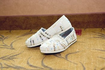 blingy Toms shoes