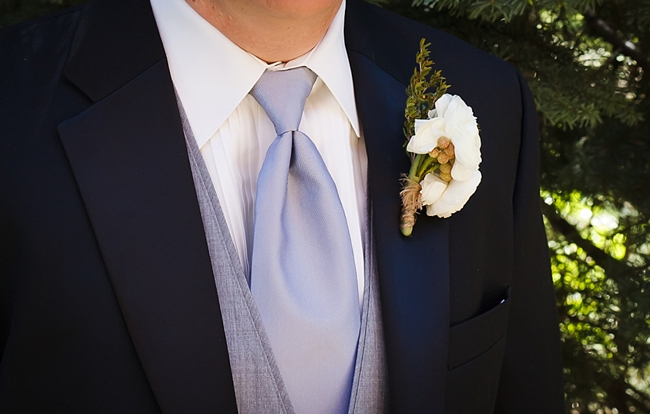 rustic boutonniere sequoia national park wedding