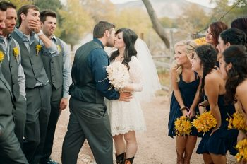 first kiss by Gaby J Photography